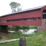 Lee's army crossed this bridge during his retreat from Gettysburg