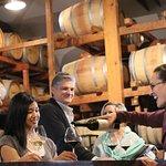 Taste amongst the barrels at Burgess Cellars