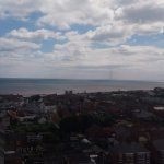 Withernsea from lighthouse