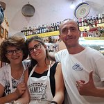 Michele, Jolanda et leur fille