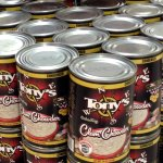 We carry 15oz and 51oz Condensed Cans of Tony's Chowder.