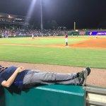 @anicelittlenap at the ballpark