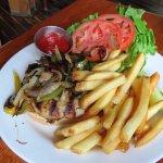 Turkey Burger - Ironside Grill in Boston (08/Jun/17)