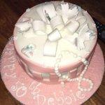 Wife's birthday cake