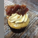 Maple Pancakes and Bacon Cupcake