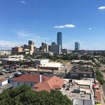 View of OKC from 7th Floor Bar and Balcony
