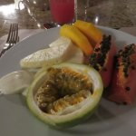 Breakfast, fresh fruit plate