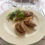 Foie Gras on baquette