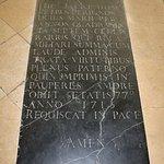 Dom Perignon's grave