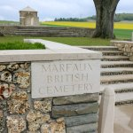 The Marfaux 1st World War Cemetary.M