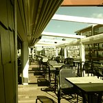 Sunshine and shelter for outdoor dining all summer