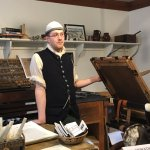 A stop at the Printing Office of Edes and Gill