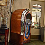 Antique juke box in lobby