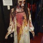 Creepy bloody Lady