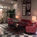 Charming lobby area