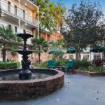 French Quarter Courtyard Fountain and Seating