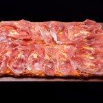 Pizza Gabbá con queso de tetilla y jamón ibérico de cebo