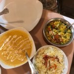 must try that korma with vegg and rice!