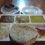 Punjabi Thali...the taste was good