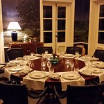 One of the new dining rooms at The Estate House