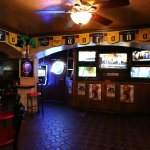 We have all the games on...we have 21 TV's to watch your favorite teams.