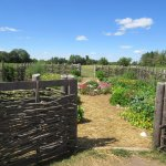 Garden at Schottler farm