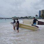 Summer 2017 surf school action @pebbles beach