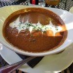 Bowl of Blackbean soup