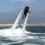 First time on the jet pack!