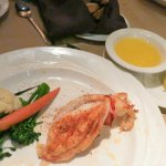 New England Lobster tail at Sterlings' at Silver Legacy Casino Reno (Alex Lee)