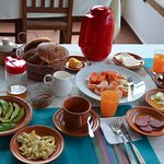 Breakfast at Refugio Los Volcanes