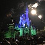 Magic Kingdom Fireworks Disney World