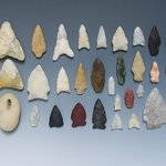 Shelter Island Lithics - Arrowhead Collection