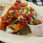 Awesome fish tacos!