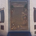 Monument recognizing Katherine Lee Bates who wrote America The Beautiful, inspired by Pikes Peak