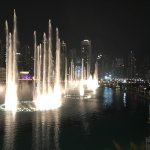The tallest fountains and most spectacular show