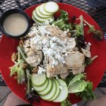 Apple, pear and Chicken salad!
