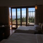 Spacious room and gorgeous views.