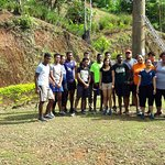 Reserve Bank Of Fiji Team pose for a Photo