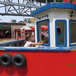 The Tug Boat at the Kids Playground