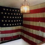 Historic American flag