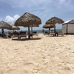 """Photos from the """"private preferred guests beach sections"""" June 2017"""