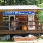 The Welcome Center at Shannon Falls