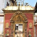 The Golden Gate in Bhaktapur Durbar Square.