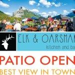 Elk & Oarsman Patio Now Open