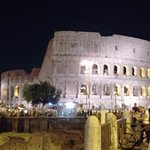 another feeling of colosseum at night