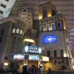Carrot Top performs in the Atrium Theatre in the Luxor Hotel in Las Vegas.