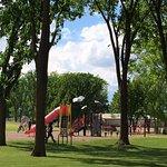Playground in Adams Park.