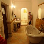 More than satisfactory bathroom facilities