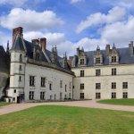 Vue de la cours du Château